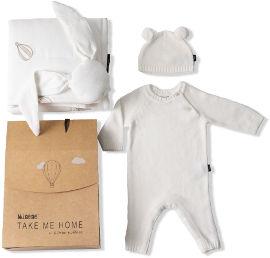 TAKE ME HOME מארז מתנה מפנק לתינוקות יוניסקס 0-3