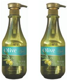 Olive זוג קרמי גוף מועשרים בשמן זית
