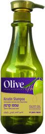 Olive שמפו קרטין מועשר בשמן זית