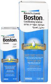 בוסטון תמיסת השריה לעדשות קשות + סבון