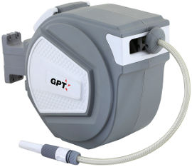 GPT גלגלת השקיה אוטומטית + צינור 15 מטר
