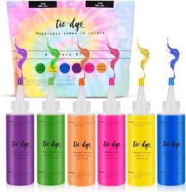 Tie dye ערכת יצירה טאי דאי 6 צבעים