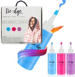 Tie dye ערכת יצירה טאי דאי עם סווטשירט לנשים