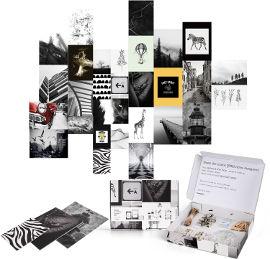 Funky Fish ערכת עיצוב חדר פרו  Black & White