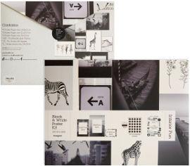 Funky Fish ערכת עיצוב בייסיק חדר  Black & White