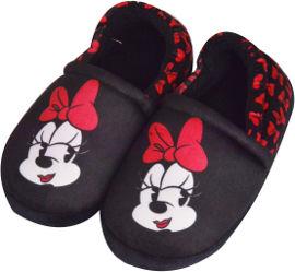 לייף נעלי-בית בנות דיסני שחור 28-30