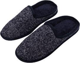 לייף נעלי בית גברים אפור -43-46
