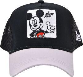 לייף כובע מצחיה - מיקי מאוס שחור