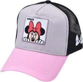 לייף כובע מצחיה - מיני מאוס אפור