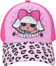 לייף כובע מצחיה - LOL ורוד