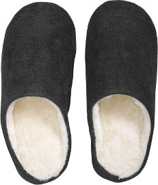 Hot Tuna נעלי בית מפנקות לחורף - אפור