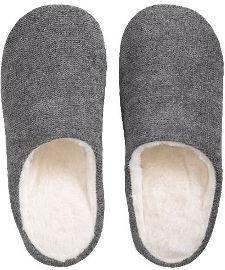הוט טונה נעלי בית מפנקות לחורף - אפור