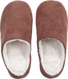 הוט טונה נעלי בית מפנקות לחורף - ורוד