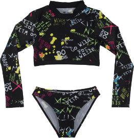 BKsport בגד ים ילדות 2 חלקים