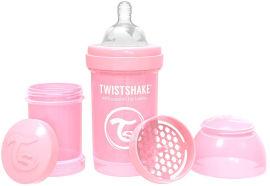 """TWISTSHAKE בקבוק לתינוק 180 מ""""ל בצבע ורוד פסטל"""