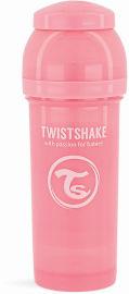 """TWISTSHAKE בקבוק לתינוק 260 מ""""ל ורוד פסטל"""