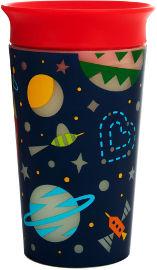 "Munchkin כוס פלא 360 זוהרת בחשיכה  266 מ""ל אדום - מנצ'קין 21193"