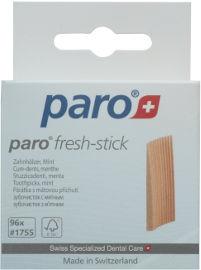 פארו קיסמי שיניים פרש סטיק מעץ גודל מדיום בטעם מנטה