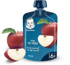 גרבר מחית תפוחי עץ +6 חודשים