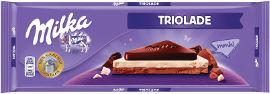 מילקה TRIOLADE - שוקולד בשלוש שכבות