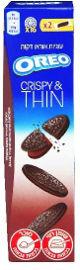 אוראו THINS עוגיות ממולאות קרם שוקולד