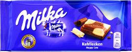 מילקה שוקולד חלב עם שוקולד לבן  -  כשר לפסח
