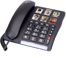 Switel טלפון שולחני מוגבר TF540
