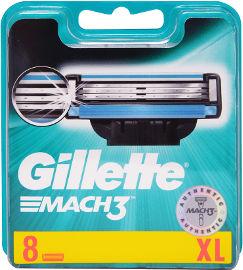 ג'ילט מחסנית סכיני גילוח רב פעמי מאך 3