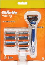 ג'ילט פיוז'ן 5 מכשיר + סכיני גילוח