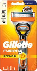 ג'ילט פיוז'ן פאואר 5 מכשיר גילוח רב פעמי +סכין