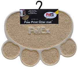 PETEX שטיח PVC לחתול חום