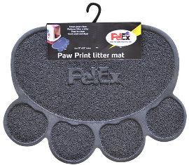 PETEX שטיח PVC לחתול אפור
