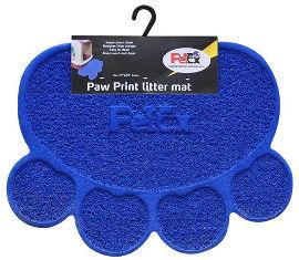 PETEX שטיח PVC לחתול כחול