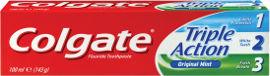 קולגייט טריפל אקשן משחת שיניים להגנה משולשת