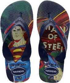 Havaianas כפכפי הוויאנס - סופרמן נייבי