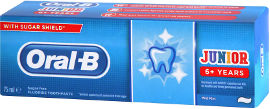 אורל בי ג'וניור משחת שיניים לילדים +6 שנים