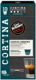 ESPRESSO 1882 קפסולות קפה אספרסו CORTINA  תוצרת איטליה