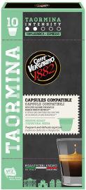 ESPRESSO 1882 קפסולות קפה אספרסו TAORMINA תוצרת איטליה