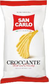 SAN CARLO חטיפי תפוחי אדמה פריכים CROCCANTE