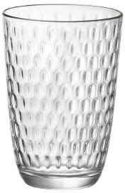 KUMI סט 12 כוסות שקופות SLOTS