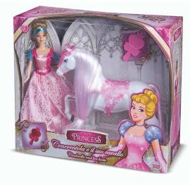 Tato Toy Limited הנסיכה אביב עם סוס