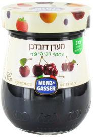 MENZ&GASSER מעדן דובדבן 100% רכיבי פרי