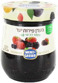 MENZ&GASSER מעדן פירות יער 100% רכיבי פרי