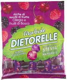דיאטורל סוכריות ללא סוכר בטעם פירות יער