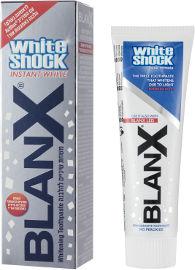 בלנקס WHITE SHOCK INSTANT משחת שיניים להלבנה