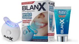בלנקס WHITE SHOCK ערכת טיפול להלבנת שיניים