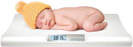 NUVITA משקל דיגיטלי לתינוק
