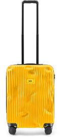 Derrière la Porte מזוודה קטנה Stripe צהוב
