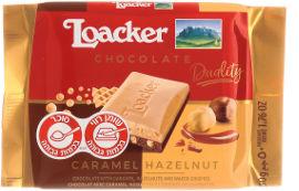 לואקר דואליטי-שוקולד בטעם קרמל, אגוזי לוז ופצפוצי וופל פריך