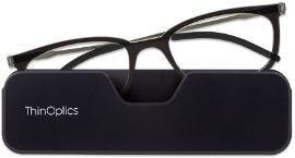 Thinoptics קריאה משקפי קונקט: צבע שחור - מידה 1.5